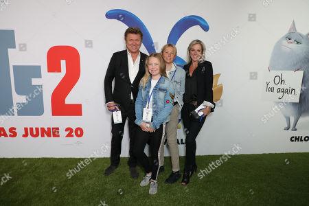 Richard Wilkins, Virginia Burmeister and guests