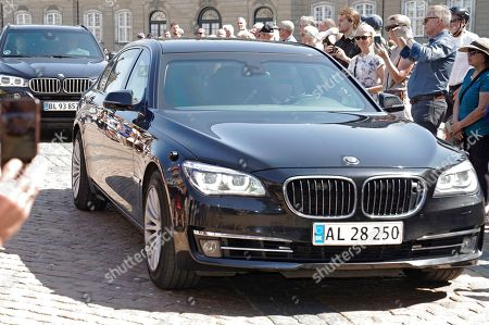 Denmark's resigning Prime Minister Lars Loekke Rasmussen arrives in his car at Amalienborg Castle, where he announced to the Queen that his goverment will resign, in Copenhagen, Denmark, 06 June 2019. Denmark headed to the polls on 05 June to elect a new parliament, the Folketing.