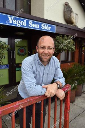 UK's Most Eco Friendly School. - Head Teacher Ian Jones. - Year 6 Pupils From Ysgol San Sior School Llandudno North Wales.- 8/5/18.