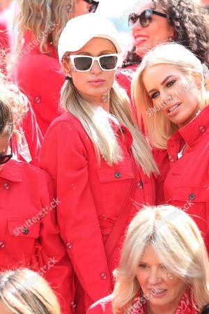 Paris Hilton and Caroline Stanbury