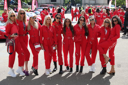 Stock Image of Paris Hilton, Caroline Stanbury, Sharlely Lilly Kerssenberg and guests