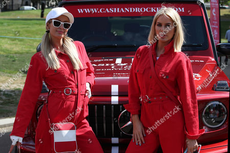 Editorial photo of Cash and Rocket Masquerade Ball rally, Hyde Park Corner, London, UK - 06 Jun 2019