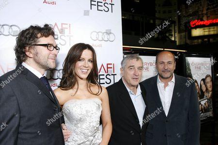 Kirk Jones, Kate Beckinsale, Robert De Niro & Gianni Nunnari