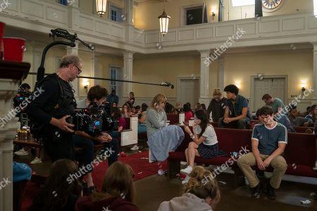 Alex Fitzalan as Harry Bingham, Rachel Keller as Cassandra Pressman, Natasha Liu Bordizzo as Helena, Kathryn Newton as Allie Pressman and Jacques Colimon as Will LeClair
