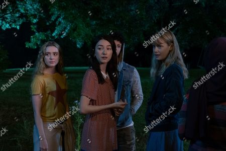 Kathryn Newton as Allie Pressman, Natasha Liu Bordizzo as Helena, Jacques Colimon as Will LeClair and Rachel Keller as Cassandra Pressman