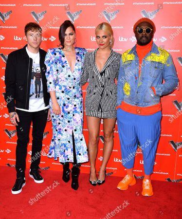 Danny Jones, Jessie J, Pixie Lott and will i am