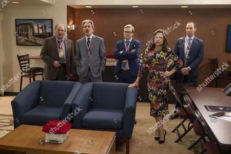 Kevin Dunn as Ben Cafferty, Gary Cole as Kent Davison, Andrew Daly as Keith Quinn, Julia Louis-Dreyfus as Selina Meyer and Tony Hale as Gary Walsh