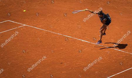 Arena Sabalenka of Belarus during her doubles quarter-final match