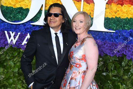 Stock Photo of Felix Cisneros III and Heather Hitchens
