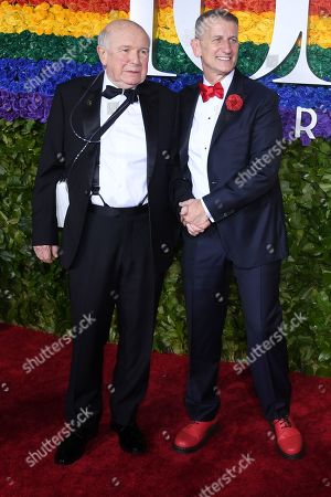 Stock Picture of Terrence McNally and Tom Kirdahy