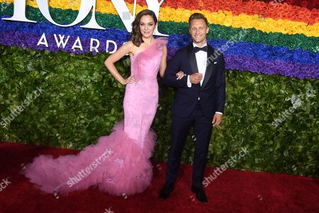 Stock Picture of Laura Osnes and Nathan Johnson