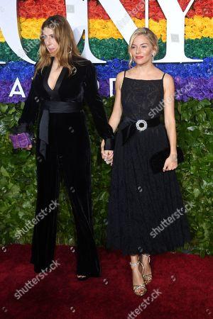 Sienna Miller and Tara Summers