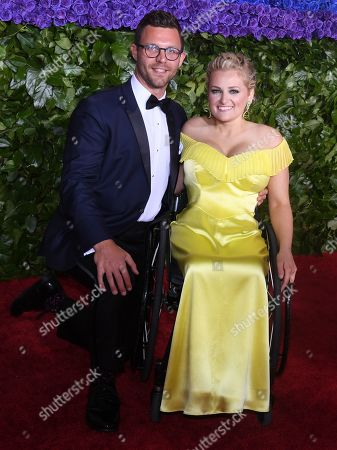 Ali Stroker and guest