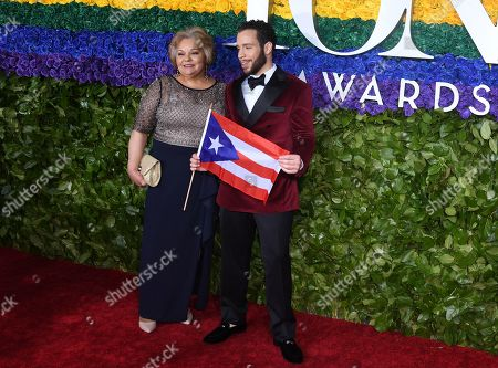 Editorial photo of 73rd Annual Tony Awards, Arrivals, Radio City Music Hall, New York, USA - 09 Jun 2019