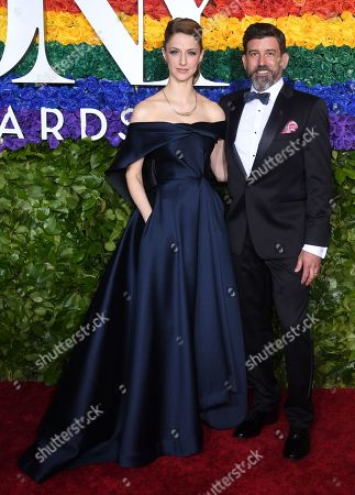 Editorial picture of 73rd Annual Tony Awards, Arrivals, Radio City Music Hall, New York, USA - 09 Jun 2019