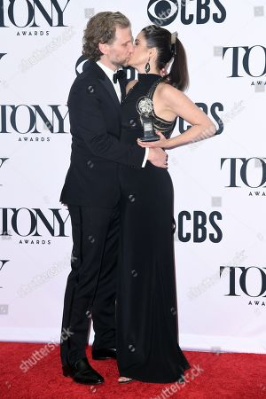 Stephanie J. Block with Sebastian Arcelus - Best Performance by an Actress in a Leading Role in a Musical - The Cher Show