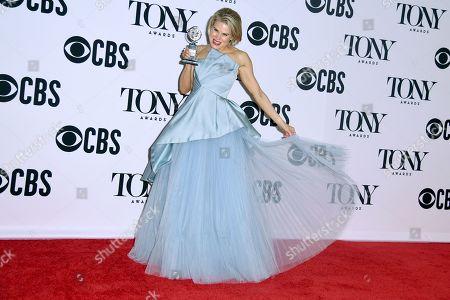 Editorial photo of 73rd Annual Tony Awards, Press Room, Radio City Music Hall, New York, USA - 09 Jun 2019