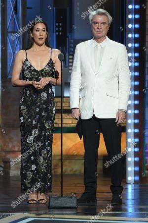Vanessa Carlton and David Byrne