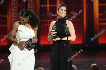 Stock Image of Audra McDonald and Stephanie J. Block