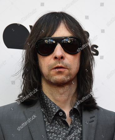 Primal Scream singer Bobby Gillespie poses for photographs as he arrives for the film premiere of 'As It Was' at Alexander Palace in London, Britain, 06 June 2019. The documentary focusses on British singer Liam Gallagher's solo career.