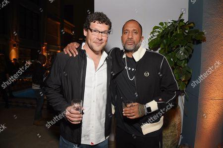 Richard Brenner and Writer/Exec. Producer Kenya Barris