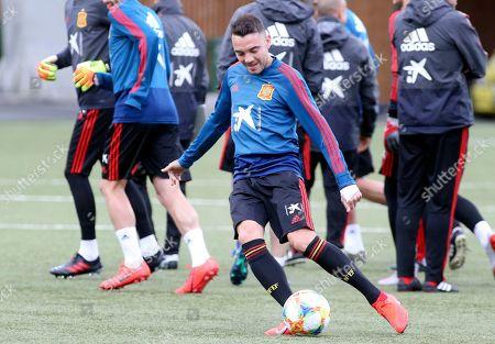 Editorial picture of Spain training, Torshavn, Faroe Islands - 06 Jun 2019