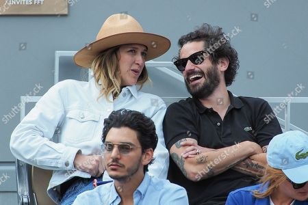 Editorial picture of Celebrities at Roland Garros 2019 French Open, Day Eleven, Paris, France - 06 Jun 2019