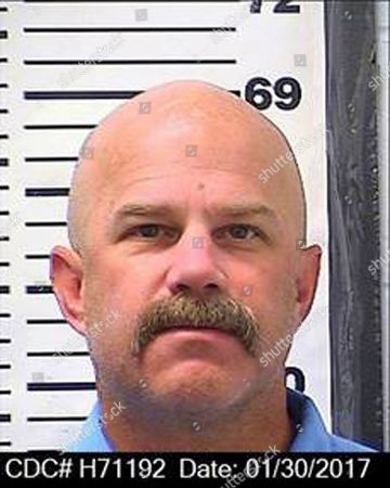 This Jan. 30, 2017, photo provided by the California Department of Corrections and Rehabilitation shows William Sylvester. He is among the 16 Aryan Brotherhood prison gang members who were charged, with killings and drug smuggling from within California's most secure prisons, U.S. prosecutors said