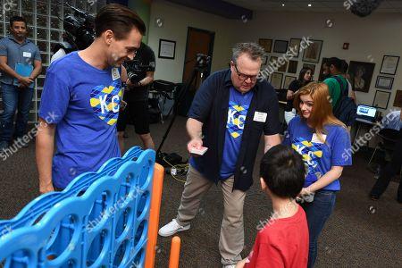 Editorial photo of Big Slick Celebrity Weekend Hospital Visit, Children's Mercy Hospital, Kansas City, USA - 07 Jun 2019