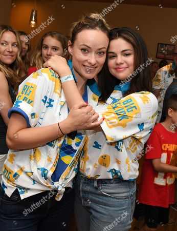 Olivia Wilde and Selena Gomez
