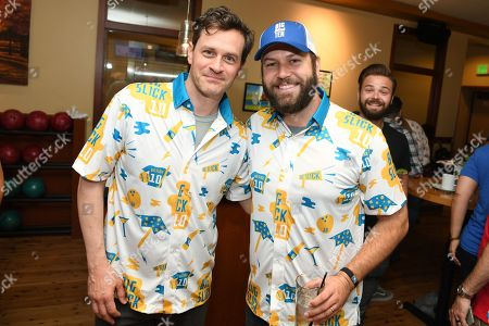 Tom Everett Scott and Taran Killam