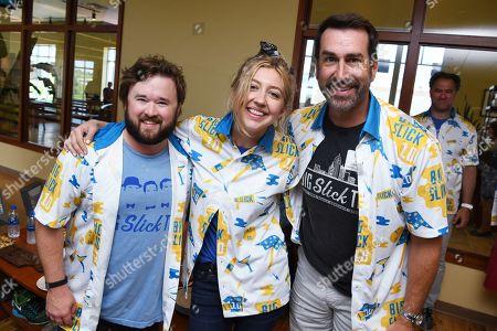 Haley Joel Osment, Heidi Gardner and Rob Riggle