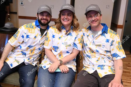 Editorial picture of Big Slick Celebrity Weekend Bowling Tournament, Pinstripes at Prairiefire, Kansas City, USA - 08 Jun 2019