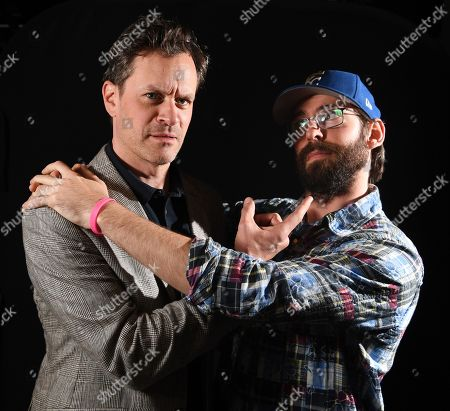 Stock Picture of Tom Everett Scott and Martin Starr