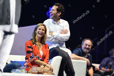 Andrea Savage and Paul Rudd