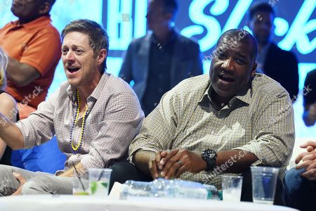 Stock Image of Kevin Rahm and Curt Menefee