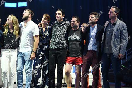 Sarah Chalke, Seth Herzog, Cobie Smulders, David Dastmalchian, Seth Herzog, Adam Scott and Jake Tapper