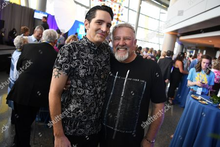 David Dastmalchian and Alex Lifeson