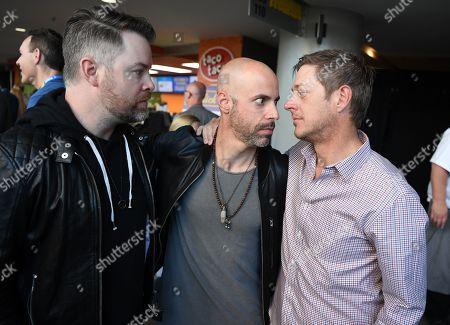 David Cook, Chris Daughtry and Kevin Rahm