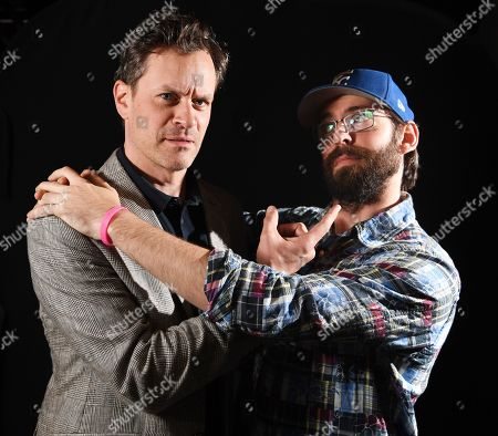 Stock Photo of Tom Everett Scott and Martin Starr