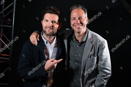 Stock Photo of Adam Scott and Jake Tapper