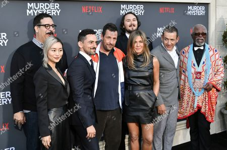 Editorial photo of 'Murder Mystery' film premiere, Arrivals, Regency Village Theatre, Los Angeles, USA - 10 Jun 2019