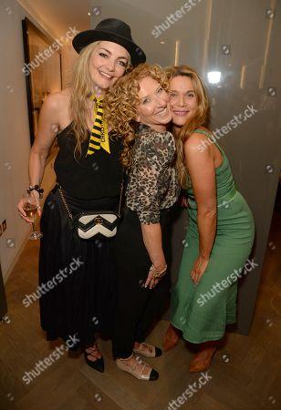 Cassandra Gracey, Kelly Hoppen and Celia Walden