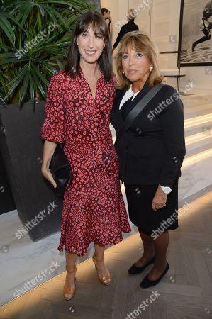 Samantha Cameron and Eve Pollard