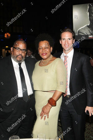 Stock Picture of Dawoud Bey, Peter W. Kunhardt, Jr., Executive Director, Gordon Parks Foundation and Carrie Mae Weems
