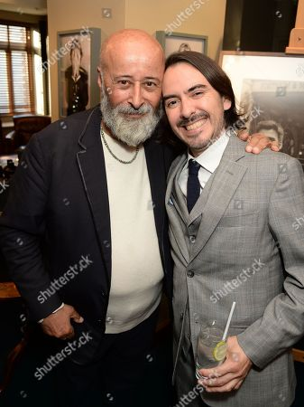 Richard Young and Dhani Harrison