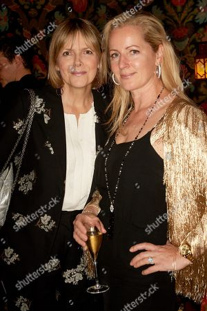 Stock Image of Carol Woolton (L) and Juliet Fetherstonhaugh
