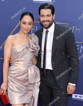 Stock Photo of Cara Santana and Jesse Metcalfe