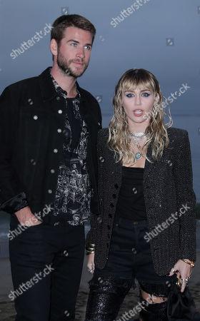 Editorial photo of Saint Laurent Show, Arrivals, Spring Summer 2020, Los Angeles, USA - 06 Jun 2019