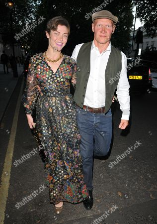 Stock Picture of Camilla Rutherford and Dominic Burns